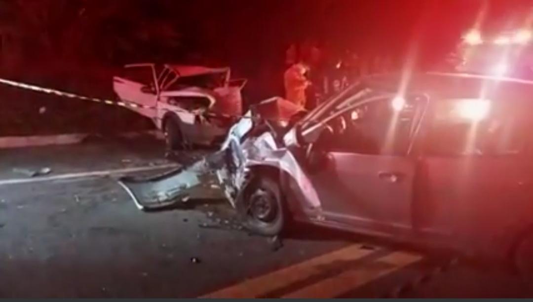 Acidente na BR 020 em Tauá deixa 3 pessoas feridas